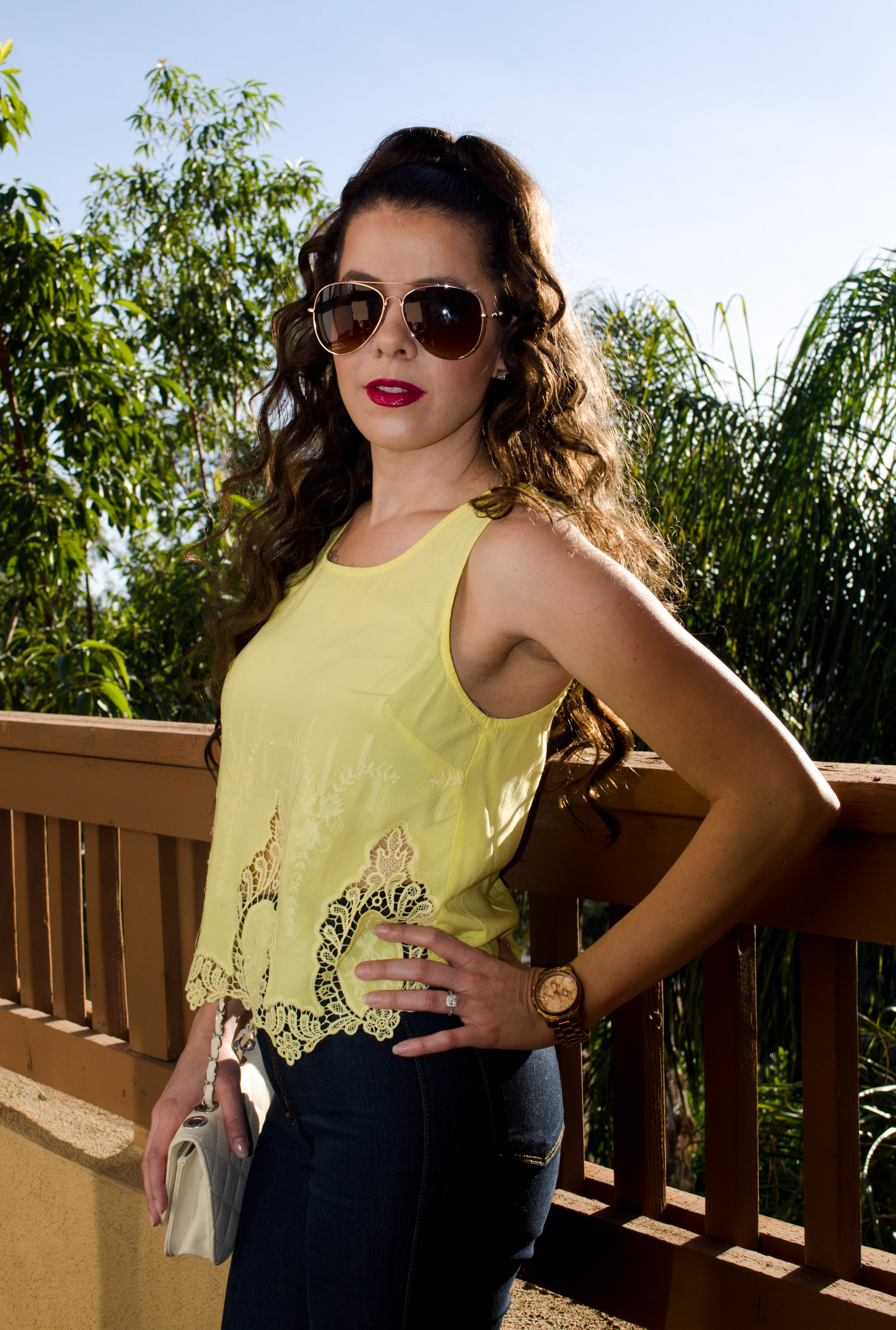 Yellow Top & Jeans Final Pic 1
