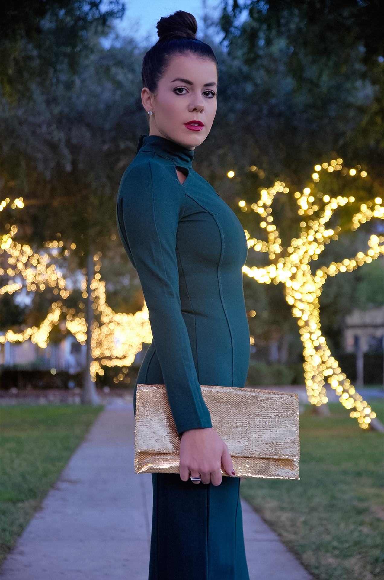 Stylewe And Just Fashion Now: Long Green Elegance With StyleWe
